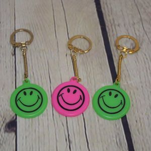 Vintage Happy Keychain